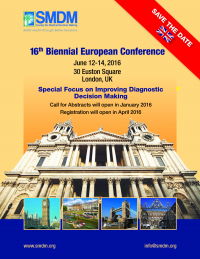 16th Biennial European Conference